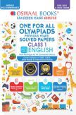 Oswaal One for All Olympiad Previous Years Solved Papers Class-1 English Book (For 2021-22 Exam)