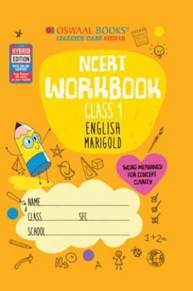 Oswaal NCERT Workbook Class 1 English (For 2022 Exam)
