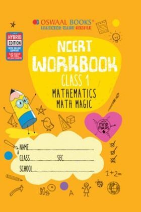 Oswaal NCERT Workbook Class 1 Mathematics (For 2022 Exam)