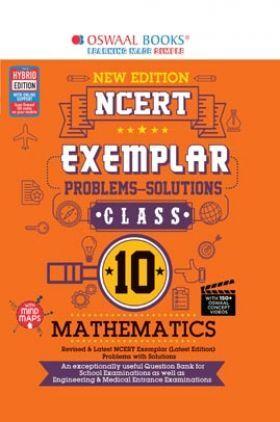 Oswaal NCERT Exemplar Problems-Solutions Class 10 Mathematics (For 2022 Exam)