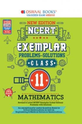 Oswaal NCERT Exemplar (Problems - Solutions) Class 11 Mathematics Book (For 2022 Exam)