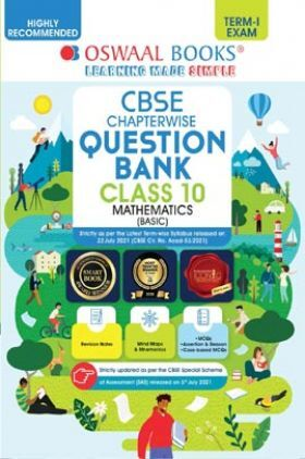 Oswaal CBSE Question Bank For Term-I Class 10 Mathematics (Basic) (For 2022 Exam)