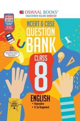 Oswaal NCERT & CBSE Question Bank Class 8 English Book (For 2022 Exam)