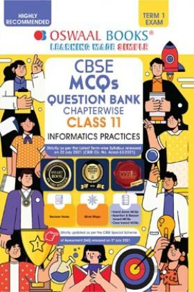 Oswaal CBSE MCQs Question Bank Class 11 Term-I Informatics Practices Chapterwise & Topicwise (MCQ's 2021-22 Exam)