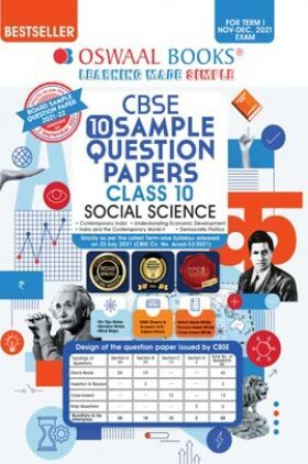 Oswaal CBSE Sample Question Papers Class 10 Social Science Book (For Term I Nov-Dec 2021 Exam)