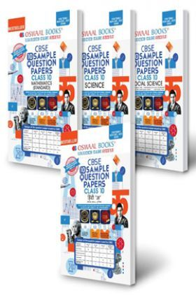 Oswaal CBSE Sample Question Paper Class 10 (Set of 4 Books) Hindi A, Science, Social Science, Mathematics Standard (Term I Nov-Dec 2021 Exam)