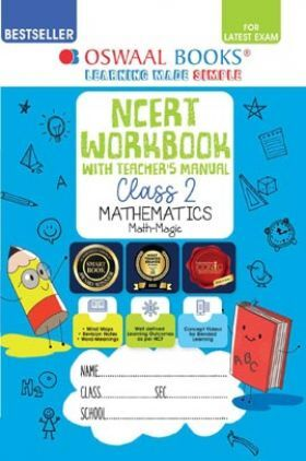 Oswaal NCERT Class 2 Mathematics Workbook with Teacher's Manual Mathematics (Math Magic)