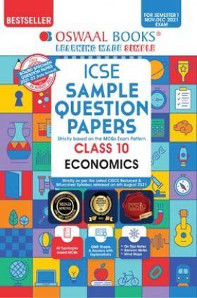 Oswaal ICSE Sample Question Papers Class 10 Economics (For Semester-1, Nov-Dec 2021 Exam)