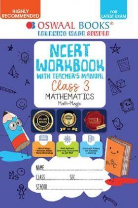 Oswaal NCERT Workbook with Teacher's Manual Mathematics (Math Magic) Class 3 (For Latest Exam)