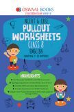 Oswaal NCERT & CBSE Pullout Worksheet For Class-VIII English (March 2019 Exam)