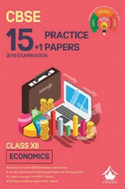 Oswal CBSE 15 + 1 Practice Papers For Class XII Economics (For 2019 Exam.)