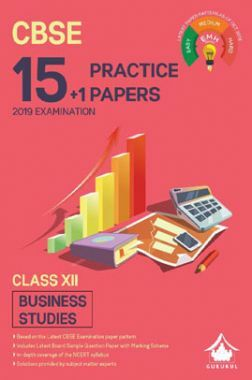 Oswal CBSE 15 + 1 Practice Papers For Class XII Business Studies (For 2019 Exam.)