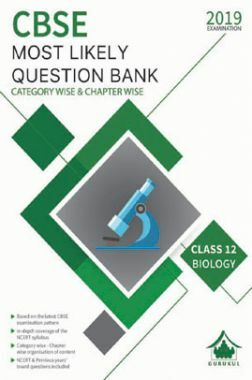 Oswal CBSE Most Likely Question Bank Category & Chapterwise For Class XII Biology (For 2019 Exam.)