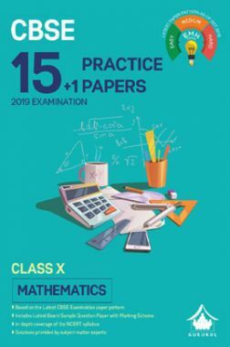 Oswal CBSE 15 + 1 Practice Papers For Class X Mathematics (For 2019 Exam.)