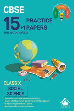 Oswal CBSE 15 + 1 Practice Papers For Class X Social Science (For 2019 Exam.)