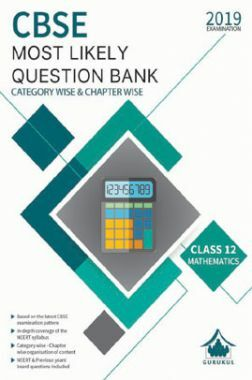 Oswal CBSE Most Likely Question Bank Category & Chapterwise For Class XII Mathematics (For 2019 Exam.)