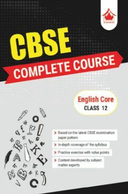 Oswal CBSE Complete Course For Class XII English Core (For 2019 Exam)