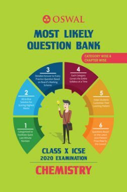 Oswal ICSE Most Likely Question Bank Category & Chapterwise For Class X Chemistry (For 2020 Exam)