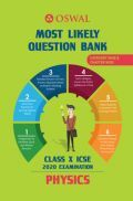 Oswal ICSE Most Likely Question Bank Category & Chapterwise For Class X Physics (For 2020 Exam)
