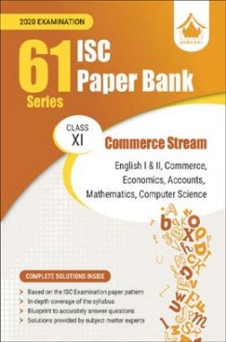 Oswal ISC Paper Bank For Class - XI Commerce Stream (61 Series) (March 2020 Exams)