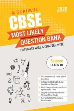 Oswal CBSE Most Likely Question Bank For Class - X Science (March 2020 Exams)