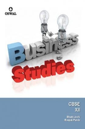 Oswal CBSE Business Studies (Including Project Work) For Class XII