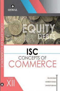 Oswal ISC Concepts Of Commerce For Class XII