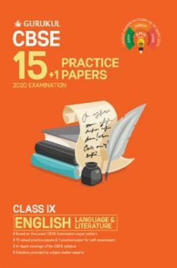 Oswal CBSE 15 + 1 Practice Papers - English Language & Literature For Class IX (For 2020 Exams)