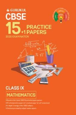 Oswal CBSE 15 + 1 Practice Papers - Mathematics For Class IX (For 2020 Exams)