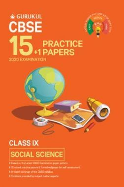 Oswal CBSE 15 + 1 Practice Papers - Social Science For Class IX (For 2020 Exams)