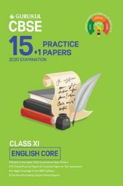 Oswal CBSE 15 + 1 Practice Papers - English Core For Class XI (For 2020 Exams)