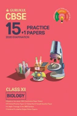 Oswal CBSE 15 + 1 Practice Papers - Biology For Class XII (For 2020 Exams)