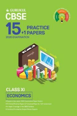 Oswal CBSE 15 + 1 Practice Papers - Economics For Class XI (For 2020 Exams)