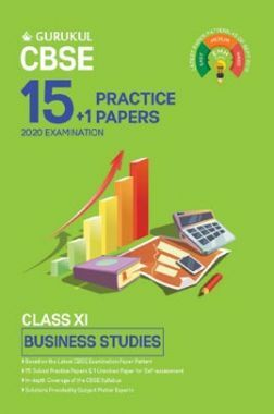 Oswal CBSE 15 + 1 Practice Papers - Business Studies For Class XI (For 2020 Exams)
