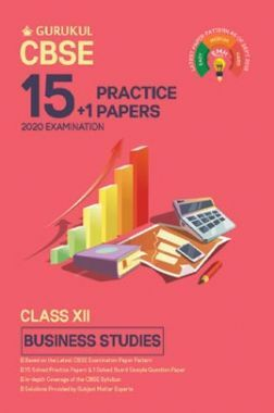 Oswal CBSE 15 + 1 Practice Papers - Business Studies For Class XII (For 2020 Exams)