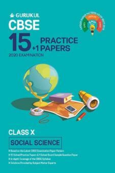 Oswal CBSE 15 + 1 Practice Papers - Social Science For Class X (For 2020 Exams)
