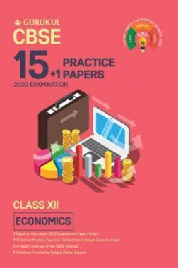 Oswal CBSE 15 + 1 Practice Papers - Economics For Class XII (For 2020 Exams)