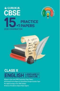 Oswal CBSE 15 + 1 Practice Papers - English Language & Literature For Class X (For 2020 Exams)