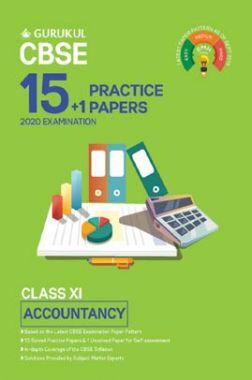 Oswal CBSE 15 + 1 Practice Papers - Accountancy For Class XI (For 2020 Exams)