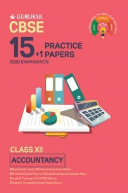 Oswal CBSE 15 + 1 Practice Papers - Accountancy For Class XII (For 2020 Exams)