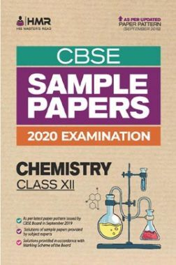 Oswal CBSE Sample Papers - Chemistry For Class XII (For 2020 Exams)