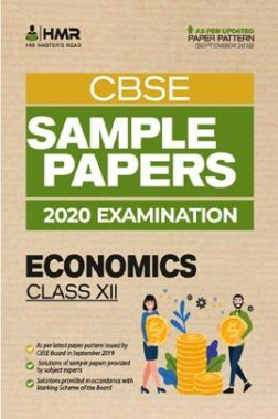 Oswal CBSE Sample Papers - Economics For Class XII (For 2020 Exams)