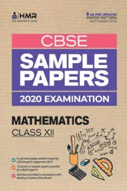Oswal CBSE Sample Papers - Mathematics For Class XII (For 2020 Exams)