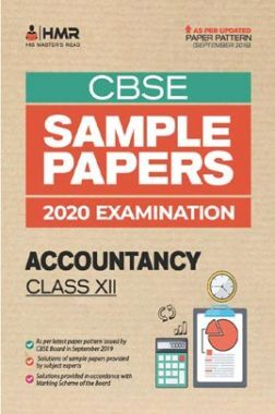 Oswal CBSE Sample Papers - Accountancy For Class XII (For 2020 Exams)