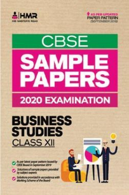 Oswal CBSE Sample Papers - Business Studies For Class XII (For 2020 Exams)