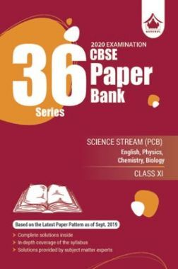 Oswal CBSE 36 Series Paper Bank Science Stream (PCB) For Class XI (For 2020 Exams)