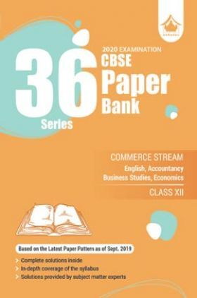 Oswal CBSE 36 Series Paper Bank Commerce Stream For Class XII (For 2020 Exams)