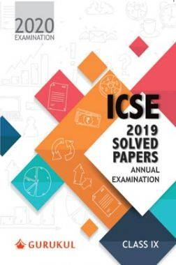 Oswal ICSE 2019 Solved Papers - Annual Examination For Class IX (For 2020 Exams)
