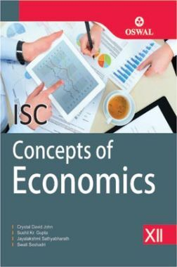 Oswal ISC Concept Of Economics For Class XII (For 2020 Exams)