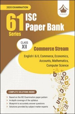 Oswal ISC 61 Series Paper Bank Commerce Stream For Class XII (For 2020 Exams)